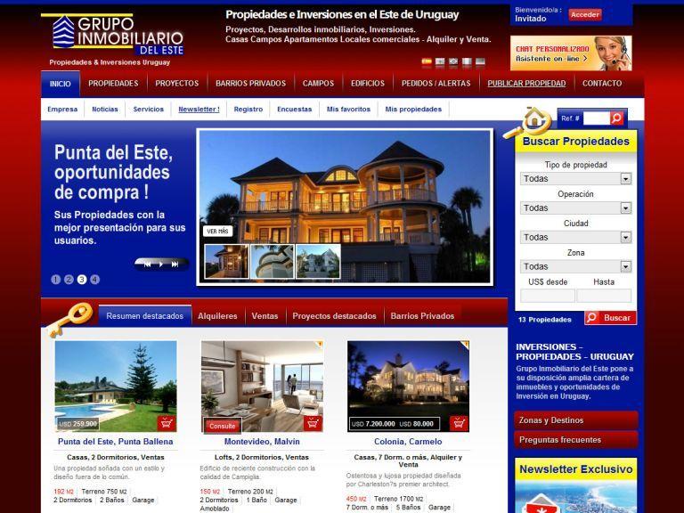 Grupo Inmobiliario del Este. Propiedades, Inversiones, Asesoramiento. - Grupo Inmobiliario del Este