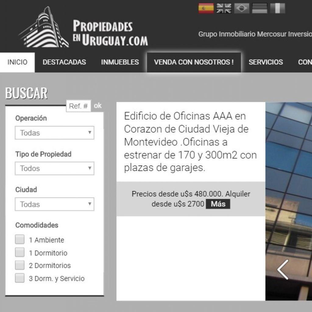 Inversiones inmobiliarias en Uruguay. Desarrollo de soluciones inmobiliarias 5 estrellas.